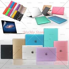 Colorful Rubberized Matte Plastic Hard Case for Apple New Macbook 12/13/15 inch