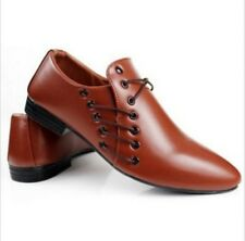 Retro Mens Dress Formal pointed toe Oxfords Wedding Office Casual Shoes Size New
