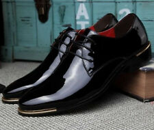 Patent Leather Mens Oxford pointed Toe Wedding Casual Dress Formal New Shoes Sz