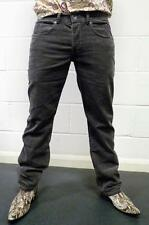 SALE! NEW FLY53 'THUNDERCLAP' INDIE STAIGHT LEG CORDUROY CORD JEANS (GREY) h152