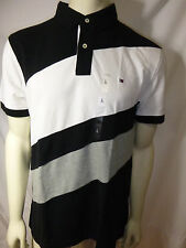 TOMMY HILFIGER mens rugby polo shirt with flag logo new nwt