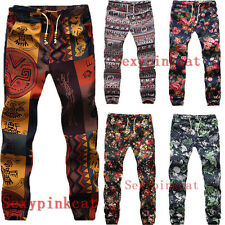 Men Boys Harem Hip Hop Dance Sports Jogger Slacks Pants Trousers Fashion Male