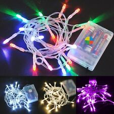 20 LED Christmas Tree Lights Fairy String Xmas Party Indoor & Outdoor Decor 2M