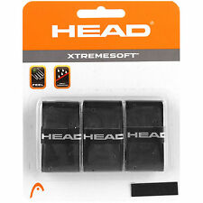 Head Xtremesoft Racquet Grip - Black - your choice pack size - from £1.75