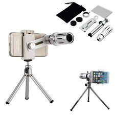 12X Zoom Phone Camera Telephoto Telescope Lens + Tripod Access For Cell Phone