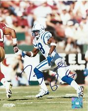 Tyrone Poole Indianapolis Colts Hand Signed Autographed 8x10 Photo w/COA