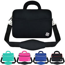 "Anti-Shock Slim 13"" 13.3"" Laptop Notebook Messenger Bag Carry Sleeve Case Cover"