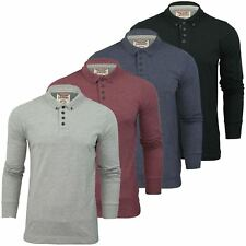 Mens Long Sleeved Polo Shirt by Tokyo Laundry