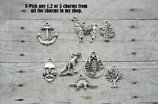U-PICK Any 1, 2 or 5 Individual Charms in my store from all listings/Mix & Match