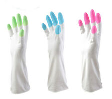 New Kitchen Toilet Cleaning Housework Multi-Purpose The rubber Latex Long Glove