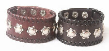 1pcs Leather Bracelet High Quality Cuff Bracelet Men Wholesale Lots Nl101-102