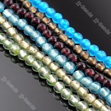 1str 10mm Murano Lampwork Glass Round Ball Loose Bead Fit Necklace Bracelet DIY