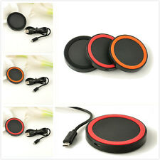 For iPhone Samsung Galaxy S3 S4 Note2 Nokia LG QI Wireless Power Pad Charger Ue