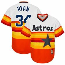 Nolan Ryan Houston Astros Cooperstown Home (Rainbow) Cool Base Jersey Men's