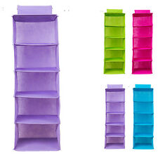 Foldable Closet Organizer Hanging Wardrobe For Clothing Storage Organization