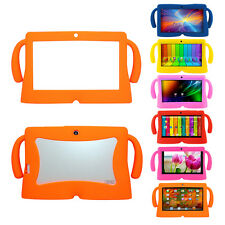 "7"" Inch Soft Silicone Gel Cover Case For Q88 Android Kids Children Pad Tablet PC"