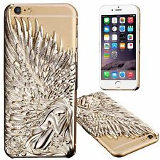 Luxury Case For Apple iPhone 5/5S/6/6 Plus Slim 3D Angel Wings Design Back Cover