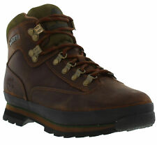Timberland 95100 Euro Hiker Mens Brown Leather Walking Ankle Boots