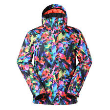 Men's Winter Outdoor Snowboarding Ski Jacket Padded Cotton Breathable Warm Coat