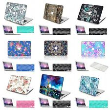 3in1 Pattern Printed Rubberized Hard Case Cover For Macbook Pro Air 11 12 13 15
