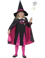 Child Girls Witch School Girl Wizard Halloween Fancy Dress Outfit Costume