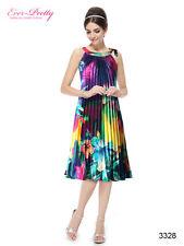 Ever Pretty Round Neck Floral Printed Cocktail Party Casual Dress 03328