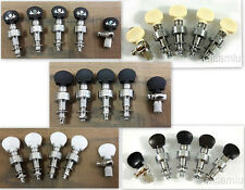 5 string banjo machine heads,  Chrome plated with laser pattern, 328CX