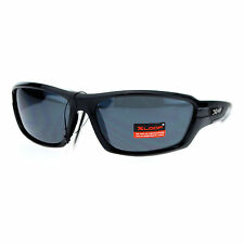 Xloop Mens Sports Sunglasses Wrap Oval Rectangular Plastic Frame