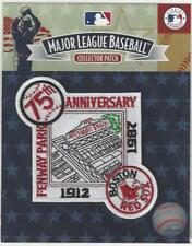 1987 Boston Red Sox Fenway Park 75th Anniversary Patch - Official MlB Licensed