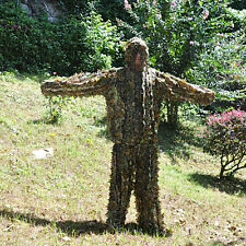 3D Camo leaf SUIT GHILLIE Jungle Sniper Training Clothing Camouflage net netting
