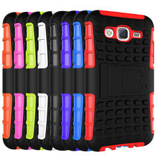 1pc J5 Hybrid Armor Rugged Hard Case Back Stand Cover For Samsung Galaxy J5 Case