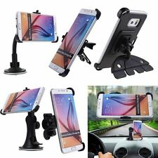360° Rotating In Car Air Vent Mount Suction CD Holder Cradle For Samsung Galaxy