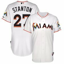 2015 Giancarlo Stanton Miami Marlins Authentic On-field Home Cool Base Jersey