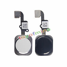 NEW black white Home Button Key Flex Cable Touch ID Assembly For iPhone 6 4.7''