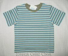 NWT Janie and Jack Scenic Locale T-Shirt 3T 5T  3 5 Striped  Blue Tee Shirt New