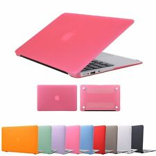 "Rubberized Hard Case Shell +Keyboard Cover for Macbook Pro 13/15"" Air 11/13""inch"