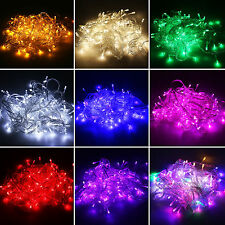 10M/20M 100/200LED String Fairy Lights Christmas Party Xmas LED Light Waterproof