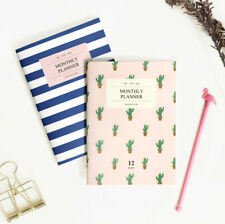 Iconic A6 Monthly Planner Ver.2 Diary Scheduler Journal Agenda Schedule Book