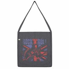 Twisted Envy Rock n Roll Union Jack Tote Bag