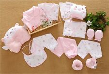 17pcs/set Cotton Newborn baby clothing baby girl boy clothes Outfits & Sets