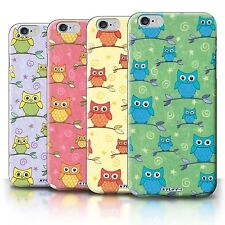 STUFF4 Back Case/Cover/Skin for Apple iPhone 6S+/Plus/Cute Owl Pattern