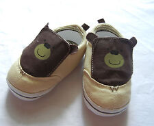 brown bear ivory leisure shoes toddler shoes baby boy shoes Us size2,3,4