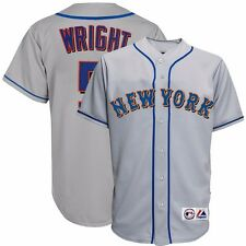 Circa 2004 David Wright New York Mets Official Grey Road Rookie Jersey Men's