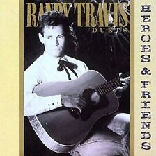 TRAVIS,RANDY-HEROES & FRIENDS CD NEW