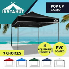 3X3m Instahut Pop Up Gazebo Outdoor Folding Tent Market Party Marquee Canopy