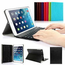 For iPad2/3/4 Bluetooth Wireless Hard Keyboard With PU Leather Case Cover
