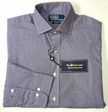 NWT $89 Polo Ralph Lauren Classic Estate Dress Shirt Mens 15 32/33 Purple NEW