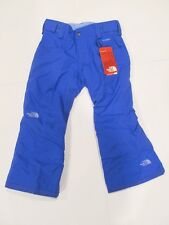 New tag Girls The North Face Blue Freedom Insulated Ski Snow Winter Pants XS S