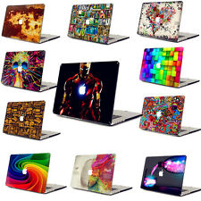 3D Painted Hard Case+Keyboard Cover+LCD Guard for Laptop Macbook Mac Book Shell