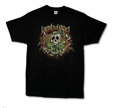 "LAMB OF GOD ""VENOM"" BLACK T-SHIRT NEW OFFICIAL ADULT HEAVY METAL BAND MUSIC"
